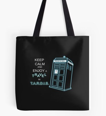 Travel in T.A.R.D.I.S. Tote Bag