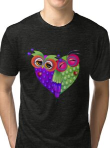 Owl's love Tri-blend T-Shirt