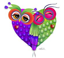 Owl's love by IsabelSalvador