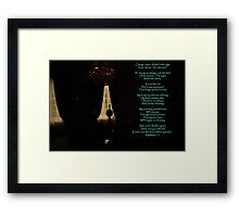 The unknown as elixir-a silent dining room-Hotel seteais, Sintra, Portugal Framed Print