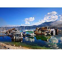 Bayview Marina Photographic Print