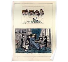 The Little Folks Painting book by George Weatherly and Kate Greenaway 0145 Poster