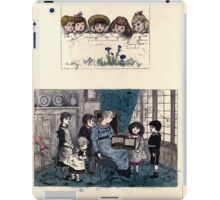 The Little Folks Painting book by George Weatherly and Kate Greenaway 0145 iPad Case/Skin