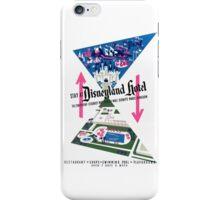 Disneyland Hotel Poster iPhone Case/Skin