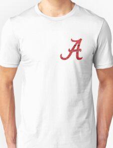 Alabama Crimson Wood Unisex T-Shirt