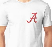Alabama Crimson Wood Unisex T-Shirt