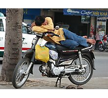 Afternoon nap in Saigon Photographic Print