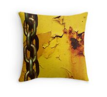 Yellow Ditty Number 2 Throw Pillow