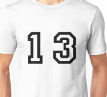 Number Thirteen Unisex T-Shirt