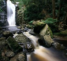"""Mathina Falls and creek"" by Husky"