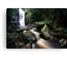 """Mathina Falls and creek"" Canvas Print"