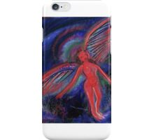 Red Angel iPhone Case/Skin