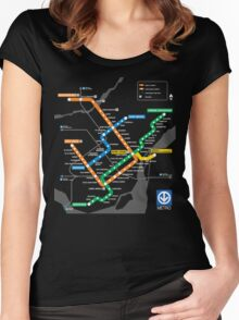 STM Montreal Metro Women's Fitted Scoop T-Shirt