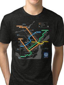 STM Montreal Metro Tri-blend T-Shirt