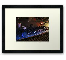 Downtown Pssar Chas Framed Print