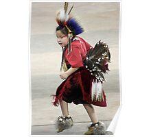 Tiny Tot Dancer Poster