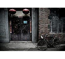 Hutongs of Beijing Photographic Print