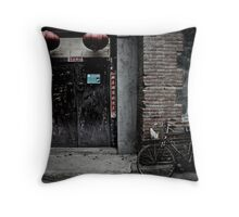 Hutongs of Beijing Throw Pillow