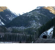 Tunnel in the Mountain Photographic Print
