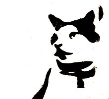 Stenciled Cat by jayded
