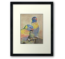 Mothers Love Birds for best review go to enlarge Framed Print
