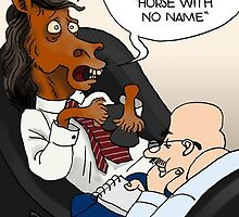 Horse With No Name by Londons Times Cartoons by Rick  London