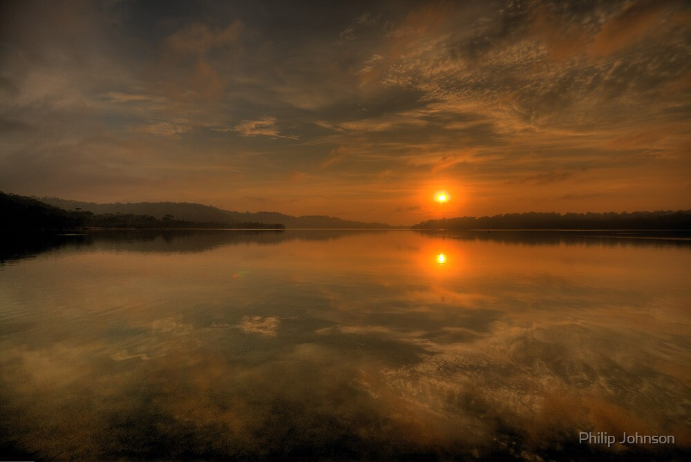 Some Days Are Diamonds - Narrabeen Lakes, Sydney - The HDR Experience by Philip Johnson