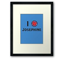 I Heart Josephine Framed Print