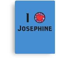 I Heart Josephine Canvas Print