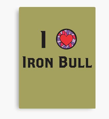 I Heart Iron Bull Canvas Print