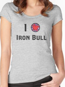 I Heart Iron Bull Women's Fitted Scoop T-Shirt