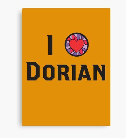 I Heart Dorian Canvas Print