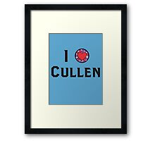 I Heart Cullen Framed Print