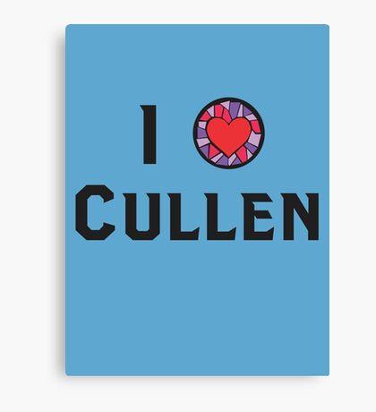 I Heart Cullen Canvas Print