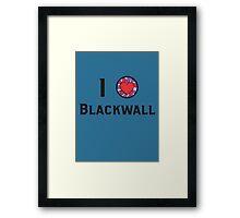 I Heart Blackwall Framed Print
