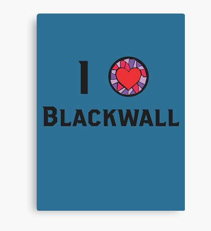 I Heart Blackwall Canvas Print