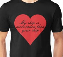 My Ship is More Canon Unisex T-Shirt