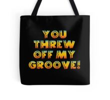 Thrown Off Groove Tote Bag
