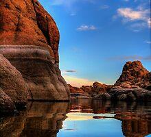 Tranquility Rock by Bob Larson