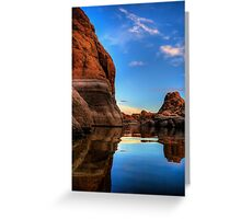 Tranquility Rock Greeting Card