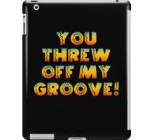 Thrown Off Groove iPad Case/Skin