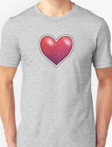 Heart of Pixels Unisex T-Shirt
