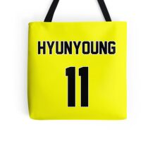 Rainbow Hyunyoung Jersey Tote Bag
