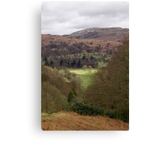 A Day In The Lakes Canvas Print
