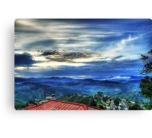 Sunset in Almora Canvas Print