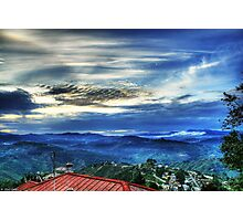 Sunset in Almora Photographic Print