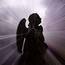 Silhouette - Angel, Deep in Prayer  by EdsMum