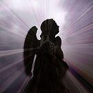 Silhouette - Angel, Deep in Prayer  by EdsMum