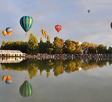 Balloon Festival Canberra by Michael Lynch