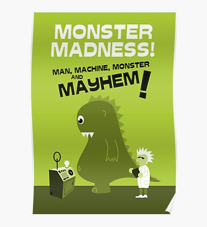Mad Scientist Poster